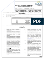 Prova Engenharia Civil - CEF