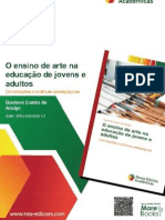 Book on Art Education in Adult Education / Libro sobre educación artística en la educación de adultos / Livro sobre Arte na EJA