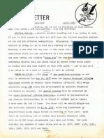 WASP Newsletter ~ 04/01/77