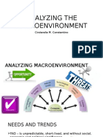 Analyzing the Macroenvironment