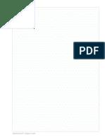 Isometric Dot Paper Blue