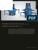 Kombi-Tee BOP w/ Lock