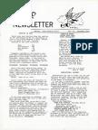 WASP Newsletter ~ 12/01/73