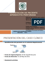 Presentación de Paciente
