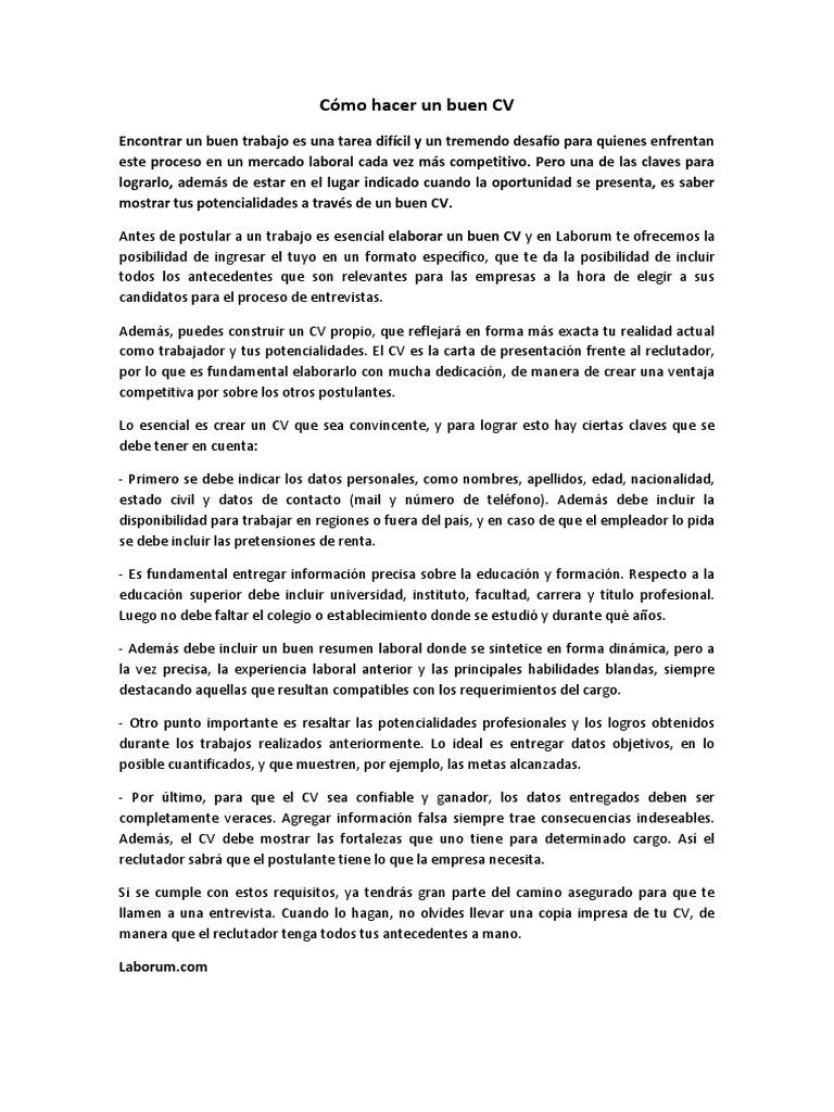 Perfecto Destacando El Currículum Foto - Colección De Plantillas De ...