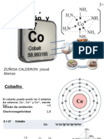 Cobalto Absorcion