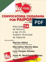 Convocatoria Ciudadana Por Paiporta