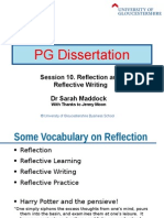Session 10 - Reflective Writing