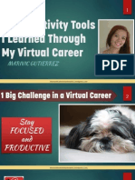 5 Productivity Tools I Learned Through My Virtual Career