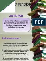 AKTA 550.pptx