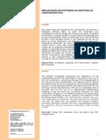 ARTIGO GIOVAINE 2014 - IMPLANTAÇÃO DE SOFTWARE NA INDUSTRIA DA CONSTRUÇÃO CIVIL..docx