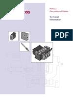 520l0344 PVG32 Proportional Valves, Technical Information