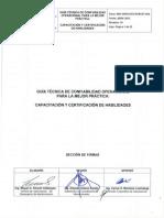 800 16700 DCO SCM GT 003. Capacitacion y Certificacion de Habilidades