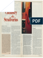 The Chemistry of a Stradivarius