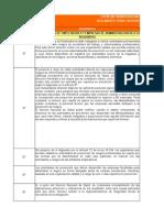 Lista de chequeo decreto supremo 40
