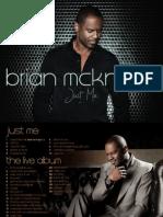 Brian McKnight Digital Booklet - Just Me