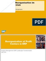 Espresso SAP LT Profit Center Reorganization 11 2013
