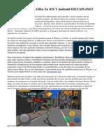 Aplicacion Leo Con GRin En IOS Y Android EDUCAPLANET