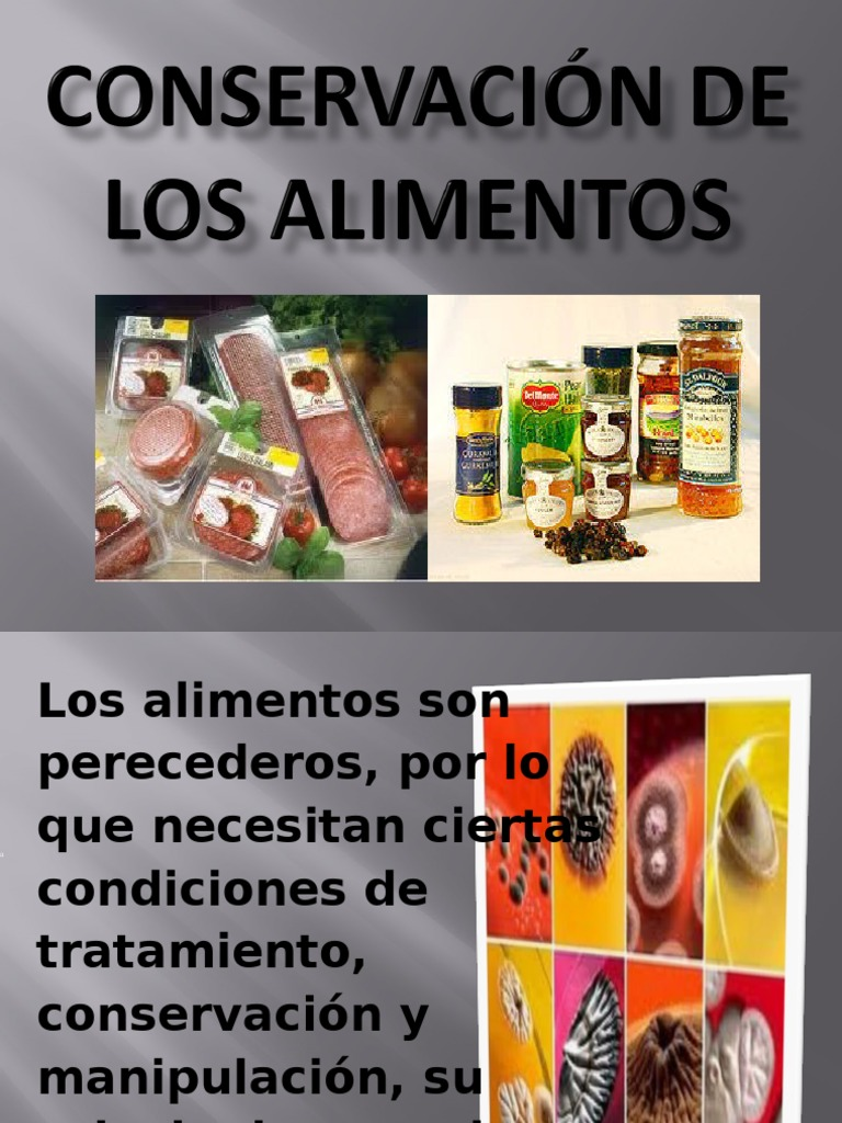 Conservacion quimica de los for Quimica de los alimentos pdf