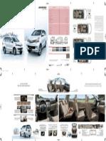 Toyota Avanza 2015 brochure