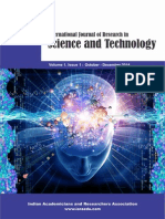 International Journal of Research in Science and Technology  ISSN