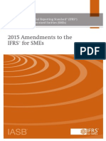 2015_Amendments to IFRS for SMEs_Standard