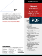 FR408 High Performance Laminate and Prepreg Data Sheet