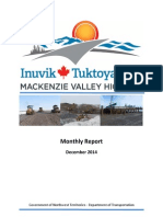 Progress Report December 2014