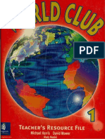 World Club 1 Teacher's Resource File