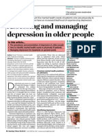Assessing and Managing Depression in Older People 301013