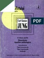 Jung, Carl Gustav-Puterea Sufletului. Antologie. II-Editura Anima (1994)