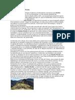 La Historia de Machu Picchu