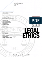UP 2014 Legal Ethics