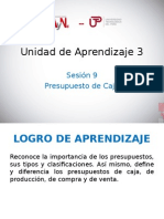 UNIDAD DE APRENDIZAJE 3 - PRESUPUESTO DE CAJA.ppt