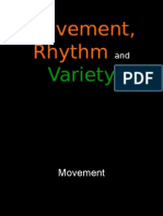 6art first grading- lesson 6- movement rhythm and variety