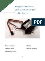 Interfacing Servo Motor With ATmega and ARM Documentation