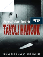 Arnaldur Indridason - Távoli Hangok