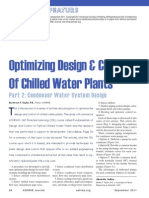 Optimizing Design & Control of Chilled Water Plants Part-2