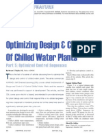 Optimizing Design & Control Of Chilled Water Plants Part-5