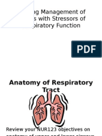 Respiratory Assessment and Diagnosis