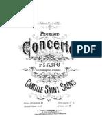 Saint-Saens - Piano Concerto No 1