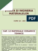 Cap 12 Materiale Ceramice Tehnice