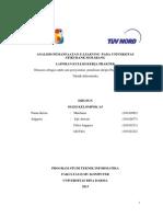 Laporan Kkp Analisis Pemanfaatan E-learning Pada Universitas Stikubank Semarang