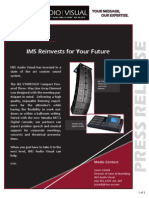 IMS Reinvests for Your Future Adding a JBL Line Array to our Company Inventory