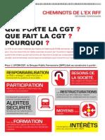 RÉFORME FERROVIAIRE CHEMINOTS DE L'EX RFF