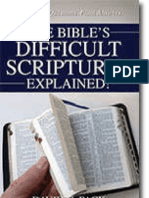 The Bible's Difficult Scriptures EXPLAINED!