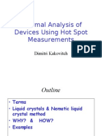 Thermal Analysis of Devices Using Hot Spot