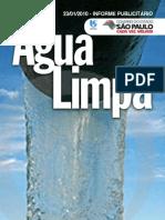 23/01/2010 - Informe PublIcItárIo água lImpa