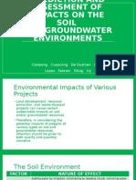 Eia Groundwater
