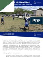 ASF Asistencias Tecnicas HAITI RD